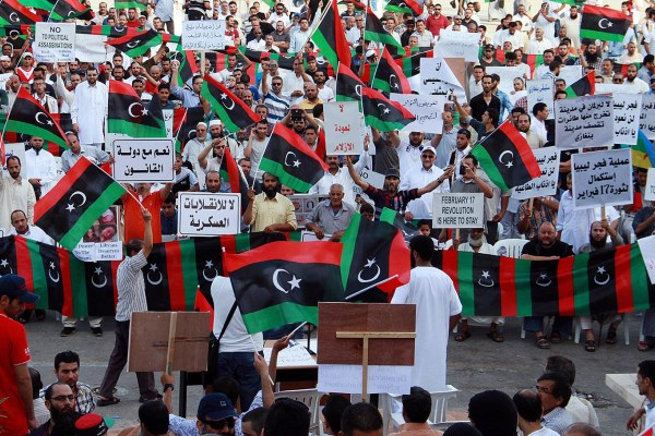 struggle for democracy in libya Free online library: a lesson for democracy in libya - by mohammad azeemullah by the tripoli post (tripoli, libya) news, opinion and commentary general interest.